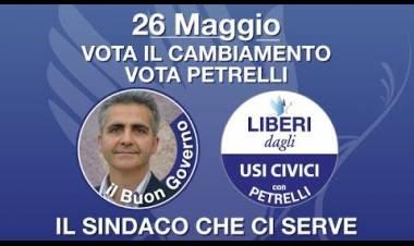 Vota il Cambiamento Vota Petrelli Vittorio