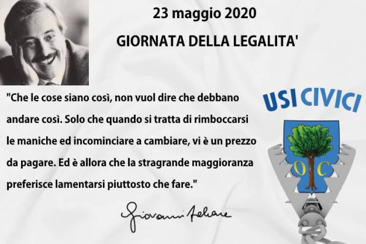 Il 23 maggio, l'anniversario della strage che costò la vita a Giovanni Falcone